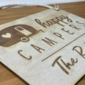 Personalised Campers Sign - Kalghi Crafts Co