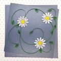 Quilled Card Daisy Chain
