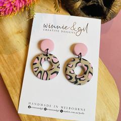 Pink Leopard doughnut