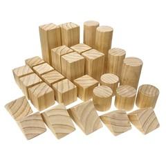 Wooden Blocks - Large Set (28 Pieces)