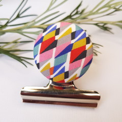Geometric Liberty Magnetic Bulldog Clip
