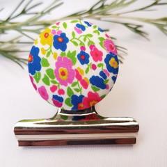 Floral Fiesta Magnetic Bulldog Clip