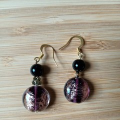 Gemstone & Glass Sparkle Earring Collection (Assorted gemstones available)