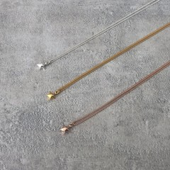 Tiny Star Charm Necklace/Pendant in Silver, Gold or Rose Gold Vermeil