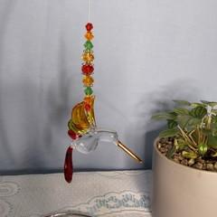 Beaded Hummingbird Sun-catcher