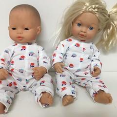 Miniland Dolls Onesie to fit 32cm Dolls