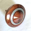 'Kurara' Turned and Decorated Spinning Top (Item K 136)