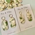 Australian country  side clay earrings