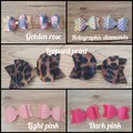 Bailey Bow Pigtail clips