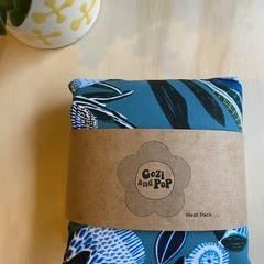 Wheat Bag Large Blue Banksia