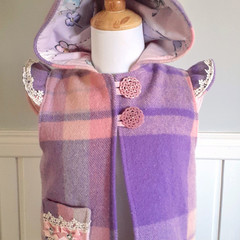 Fairy wool vest size 5