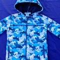 Shark Camouflage Soft Shell Jacket Size 5