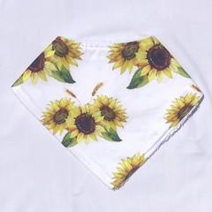 Sunflower Bandana bib