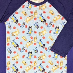 Blue Dog Long Sleeve Tee Sizes  2, 3, 4, 5