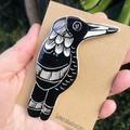 Magpie brooch