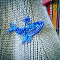 Whalerider brooch
