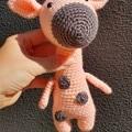 """ Sophie "" Crochet Giraffe Amigurumi"