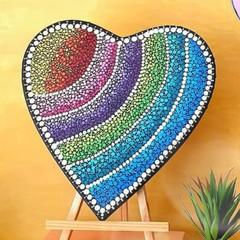 Dot Art Heart