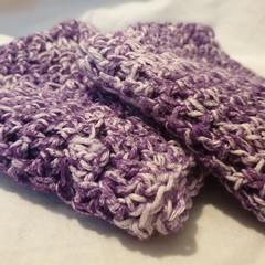 2 Crochet Cotton Dish Wash Cloths