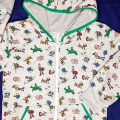 Zip Fleece Hoodie Toys Sizes: 2, 5, 6