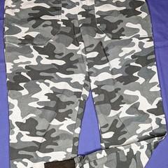 Grey Camouflage Track Pants Sizes 8, 10