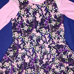 Fairy Long Sleeve Dress - Sizes 3, 4 and 5