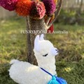 Nursery Decor Llama Teddy Crochet LLama Softie