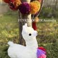 Llama Softie Handmade Llama Teddy