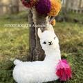 Llama Alpaca Softie Handmade Llama Teddy Nursery Decor