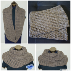 Outlander inspired,  long and soft infinity scarf - FREE SHIPPING