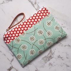Dandelion and Dots Purse - Free Postage