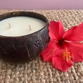 Eco Coconut Bowl Soy Candle
