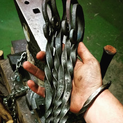 Hand Forged Viking Tent Peg