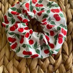 Cherry Cherries pattern Hair Scrunchie Accessory