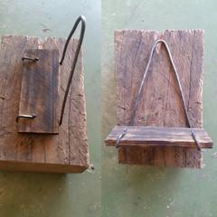 Hand forged Shelf