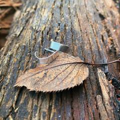 falling leaf studs
