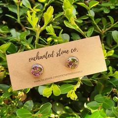 Sweet Alyssum - MINI - Stud Earrings - Gold