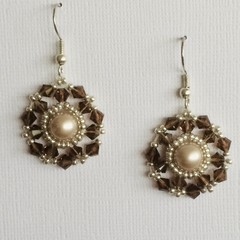 Swarovski Crystal Earrings: Lodestar