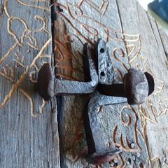 Hand Forged Rail Spike Hook