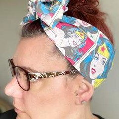 Wonder Woman Boho Wire Headband