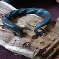 Hand Forged Wrist Torc