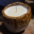 "Handmade Candle ""Cucumber & Ginger"" fragrance"