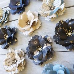 Mixed Patterns Handmade Flowers - Set 2