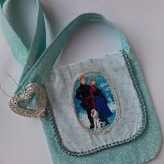 sweet handmade Frozen little girls shoulder bag