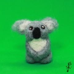 Koala - Handmade Needle Felted Animal