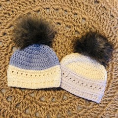 Baby beanie for 3-6 month olds