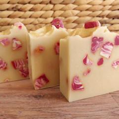 Pink Agate Handmade Natural Luxury Soap - Vegan - Nourishing