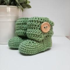 Sage Green Little Boots
