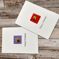 LEGO CARD - Square Brick Card with Envelope