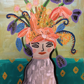 Lady in a Vase